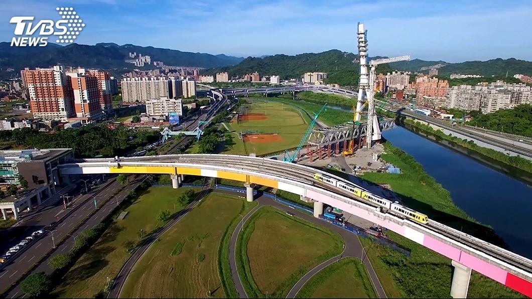 圖/新北市府捷運局提供 歷時27年 捷運環狀線第1階段通車大事記