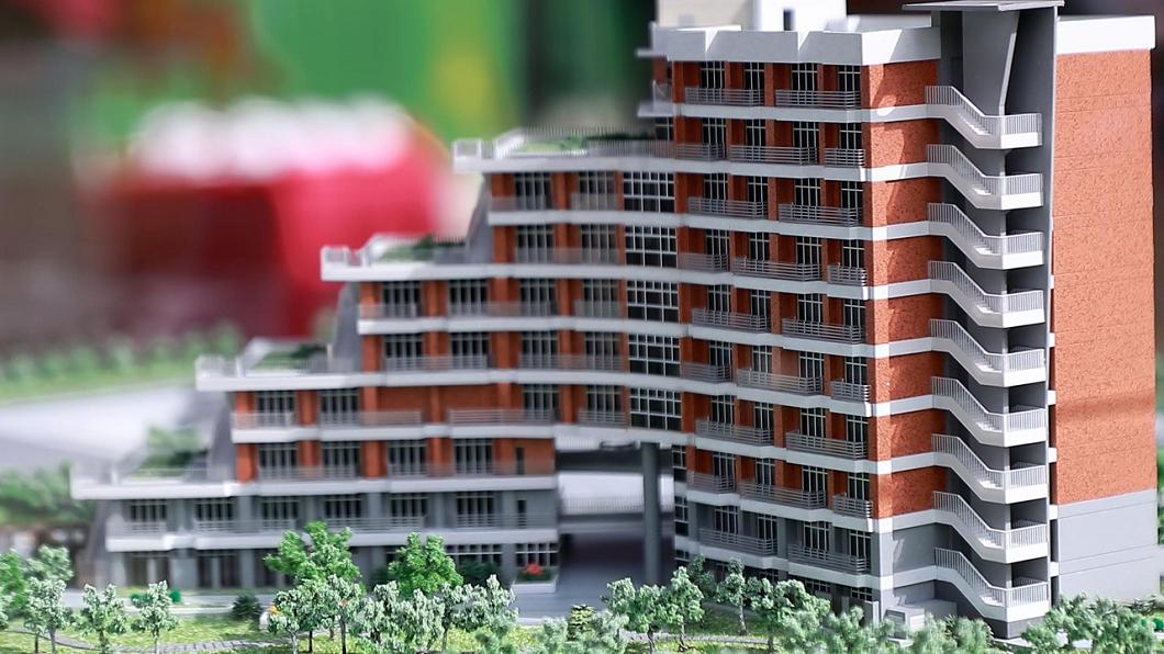 「是在哈樓」是北大新宿舍大樓命名活動人氣王。(圖/翻攝自台北大學官網) 「是在哈樓」獲採用 北大新宿舍最終命名結果出爐