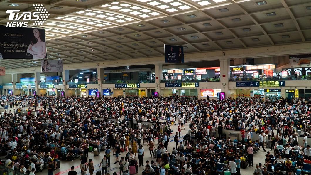 示意圖/TVBS 中國總人口數突破14億 男較女多逾3千萬人
