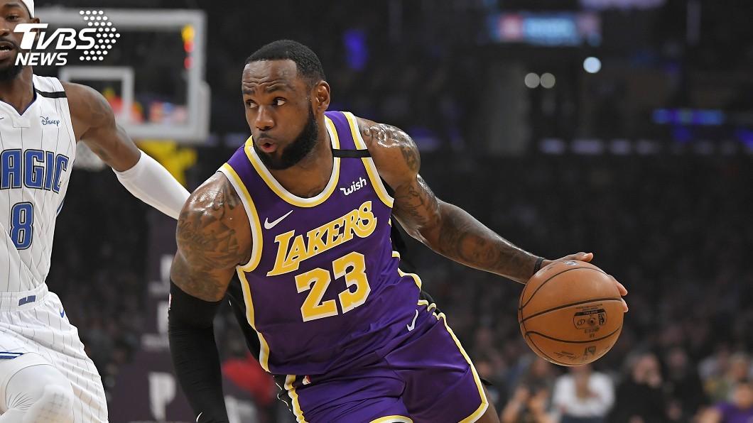 圖/達志影像美聯社 NBA明星賽投票 詹姆斯擴大領先狠甩唐西奇