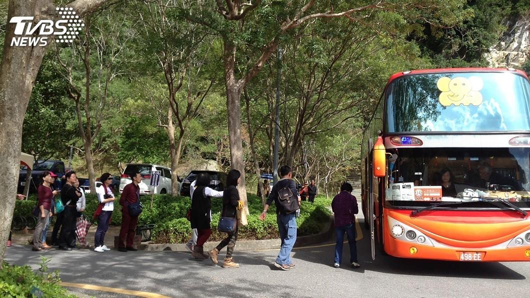 圖/太管處提供 春遊太魯閣 中橫交管搭免費遊園專車