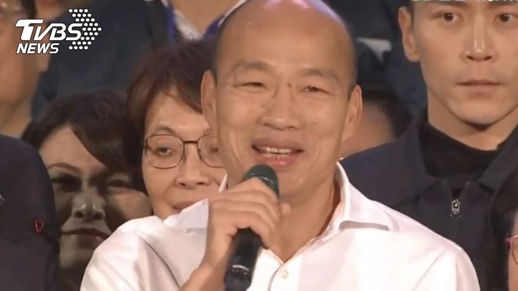 高雄市長韓國瑜。(圖/TVBS資料畫面) 韓國瑜是否會選黨主席? 黃暐瀚「4字」大膽預測