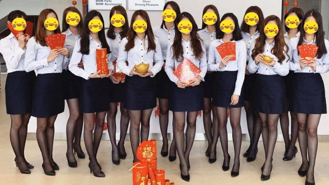 汽車大廠曬「14高顏值女員工」拜年 絕美照惹網暴動