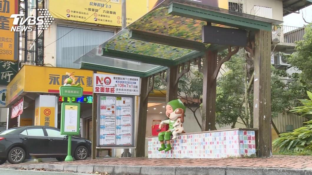 可愛!宜蘭「幾米站牌」啟用 粉絲朝聖拍照