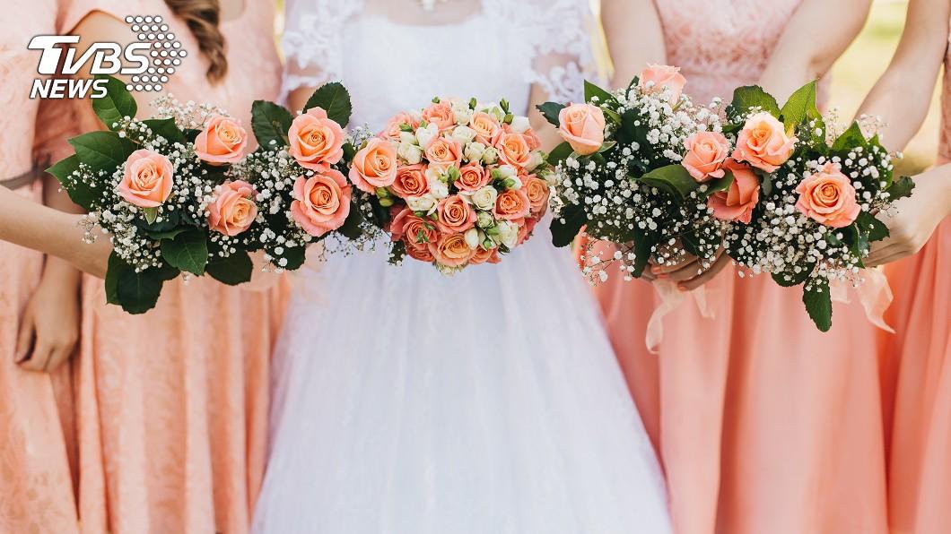 不少女性結婚時都會找自己的閨密或姊妹淘當伴娘。(示意圖/TVBS) 正翻了!「最美伴娘團」全都高顏值 網跪求認識:都想要