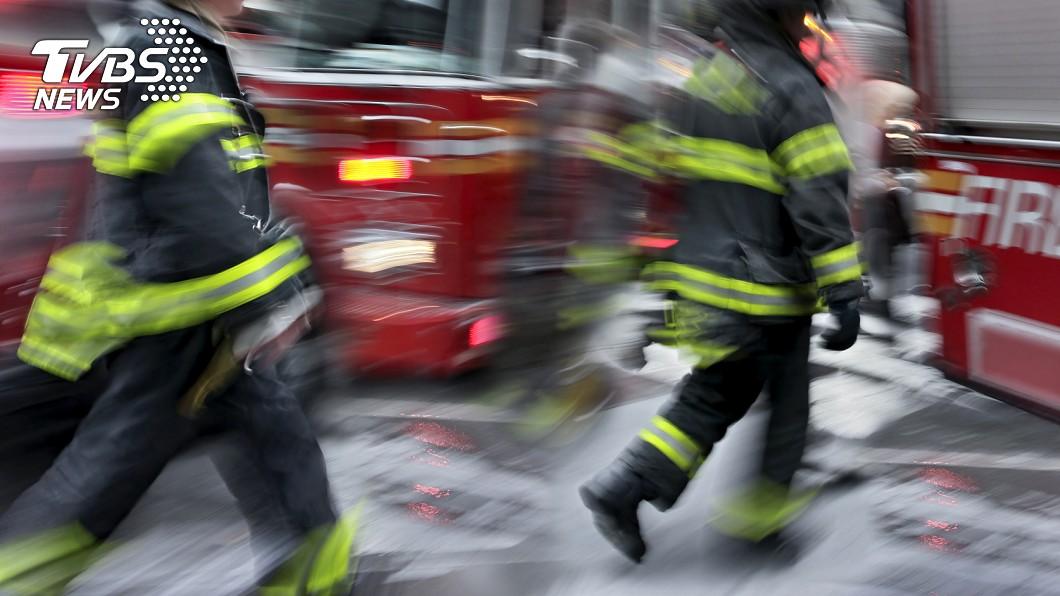 示意圖,與事件無關。圖/TVBS 自宅失火「一方法」救家人脫困 9歲女童:不怕學校有教
