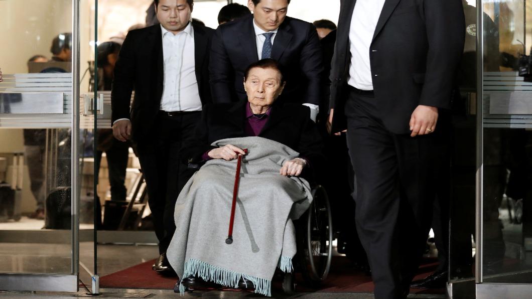 圖/達志影像路透 從口香糖廠到韓第五大集團 樂天創辦人病逝