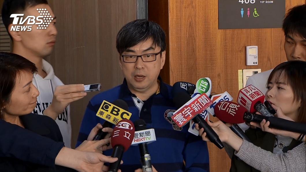 資料畫面:段宜康受訪。(圖/TVBS) 獲不懲戒! 辦曲棍球案遭彈劾 檢察官陳隆翔:監委立場偏