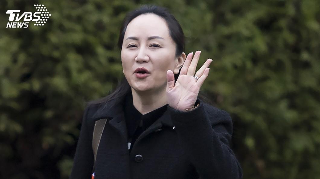 圖/達志影像美聯社 孟晚舟溫哥華出席引渡庭 雙重犯罪是攻防焦點