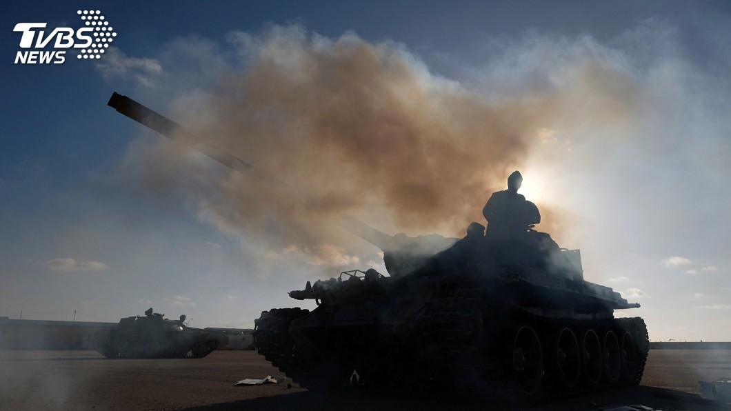 圖/達志影像路透社 若利比亞軍閥不守停火承諾 土耳其稱準備行動