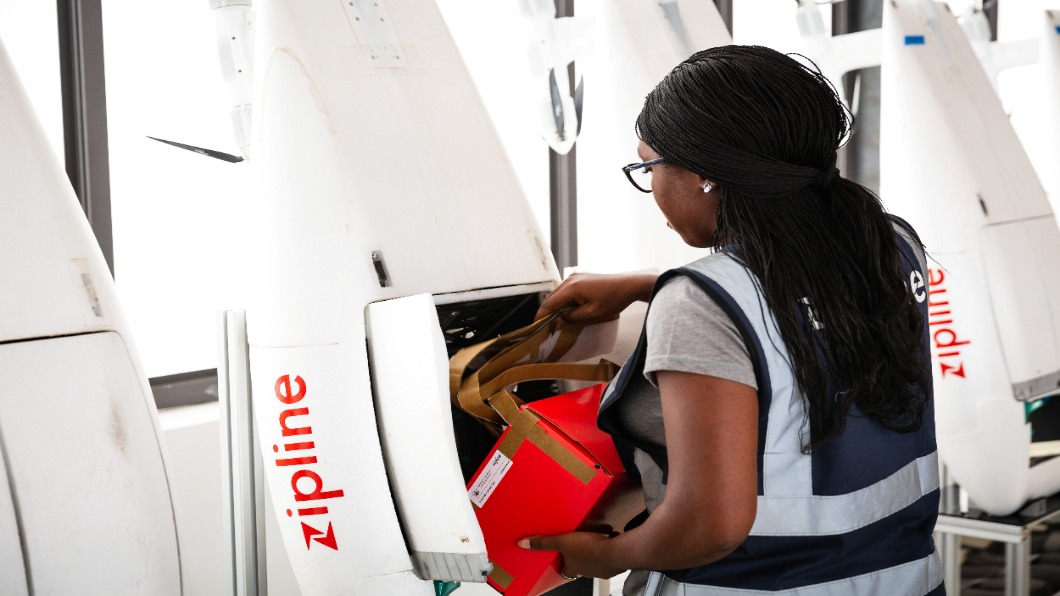 圖/達志影像路透 迦納外資新寵兒 美無人機專送醫藥品