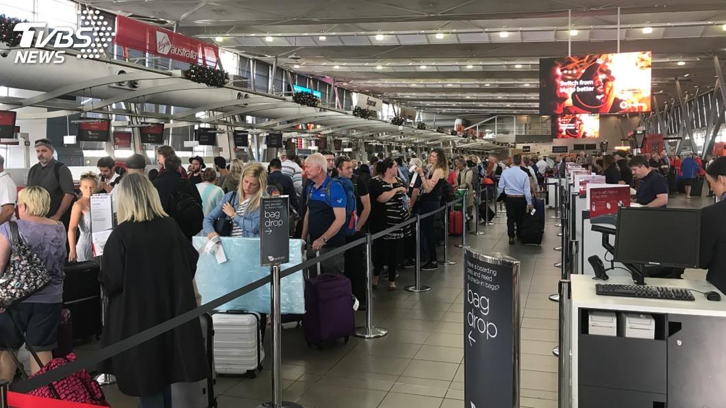 示意圖/TVBS 防肺炎疫情擴散 澳洲將啟動武漢旅客入境篩檢