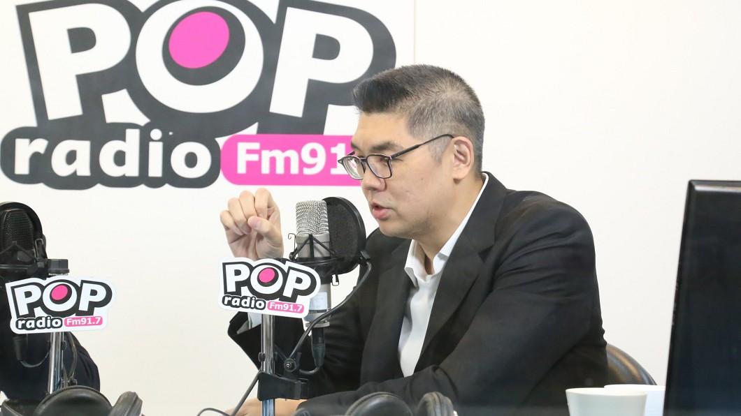 圖/POP撞新聞提供 連勝文:國民黨不該再期待救世主 應集體領導