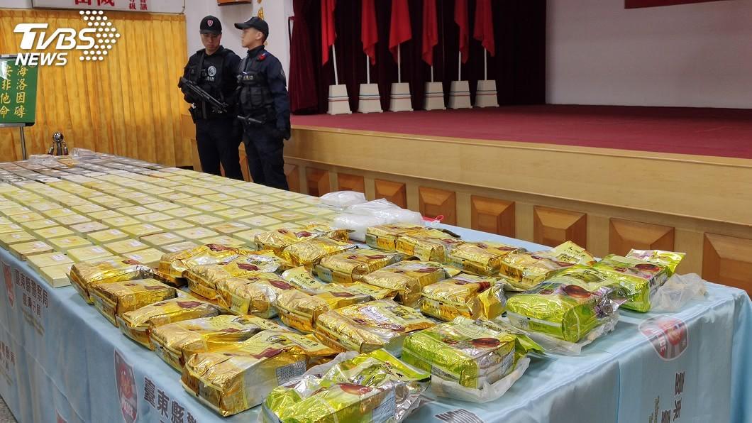 圖/中央社 台東檢警大數據追查毒梟 緝捕過程宛如電影情節