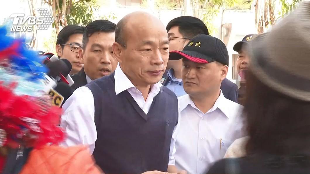 高雄市長韓國瑜。(圖/TVBS) 罷韓案能不能成? 命理師曝:韓國瑜還有運