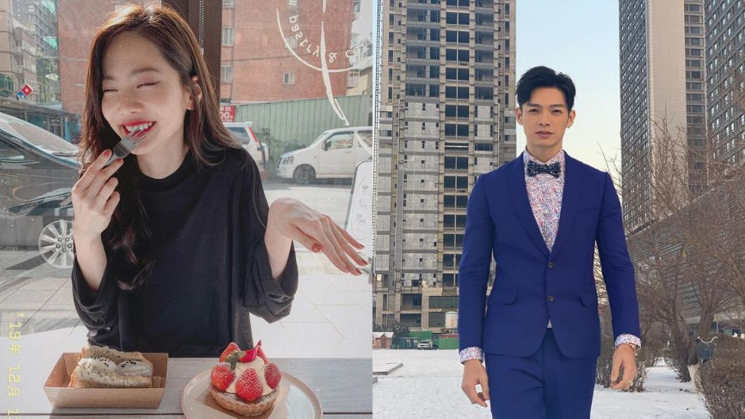 曾之喬(左)甜嫁辰亦儒(右)。(圖/(右)翻攝自曾之喬Instagram、(左)翻攝自辰亦儒Instagram) 恭喜!曾之喬甜嫁辰亦儒:我是陳太太囉