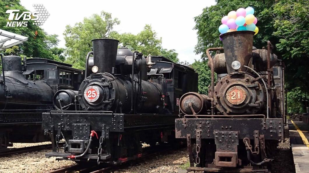 圖/阿里山林鐵及文資處提供 阿里山國寶級蒸汽火車修復 盼再現百年風華