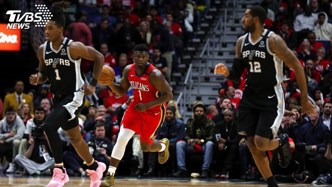 圖/達志影像路透社 NBA「怪物新秀」威廉森末節狂飆 處女秀攻22分