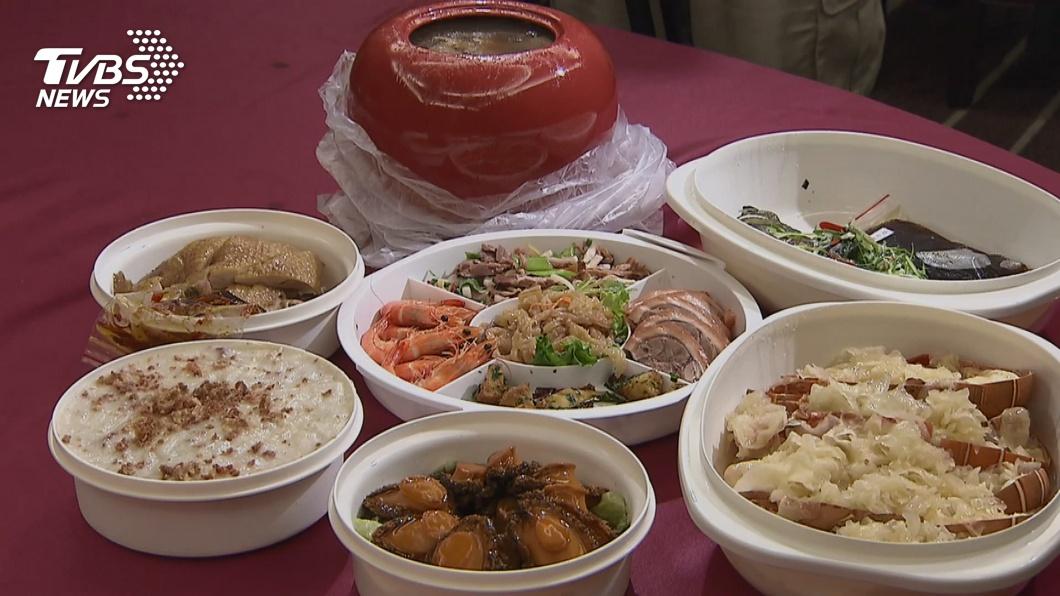 春節團圓飯相當澎湃。(圖/TVBS資料畫面) 團圓飯桌不能沒它!春節必吃10道年菜料理一次看