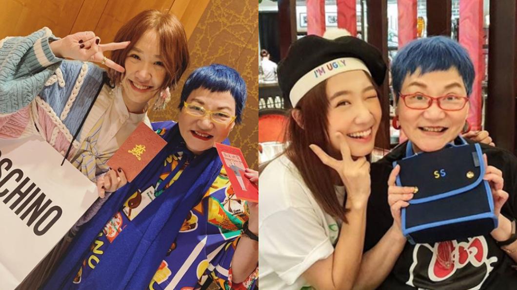 張小燕、黃子佼、Lulu在小年夜團聚。(圖/翻攝自Lulu Instagram) 祖孫三代團聚!Lulu洩「1事」…張小燕害羞秒遮臉