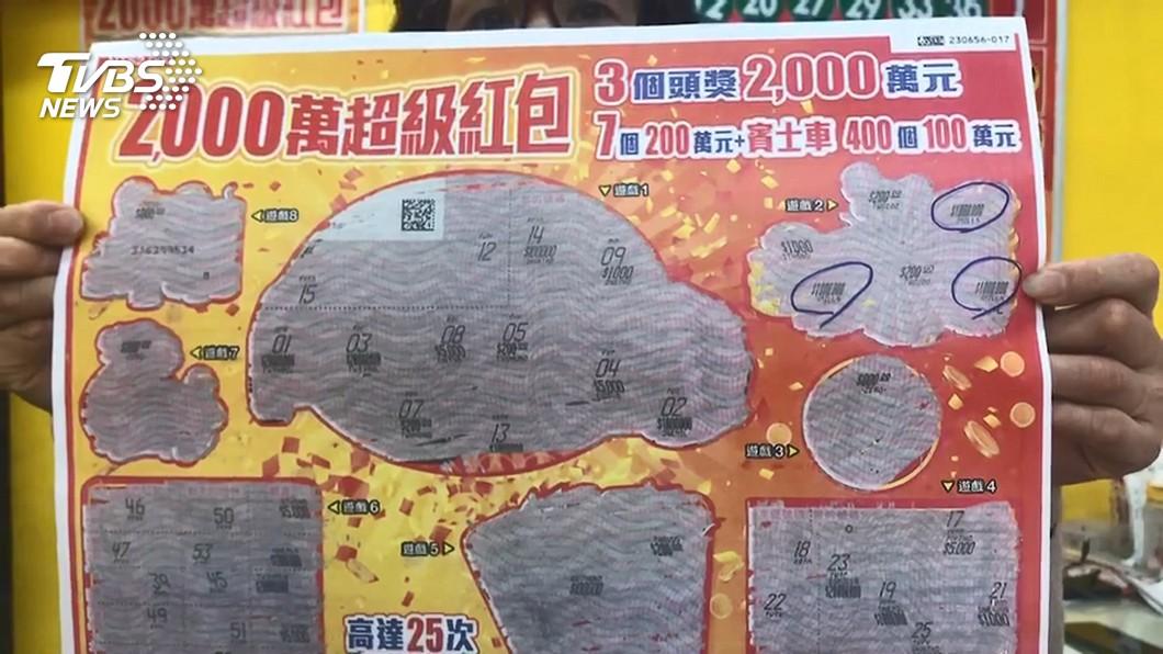 示意圖/TVBS資料畫面 店員讚「好事發生」男客連刮6張中百萬 嗨翻發千元吃紅