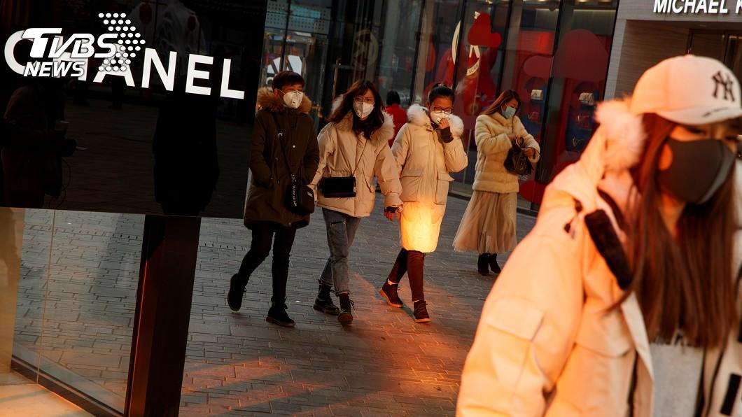 圖/達志影像路透社 貿易戰未完又遇上武漢肺炎 CNN:中國經濟恐雪上加霜