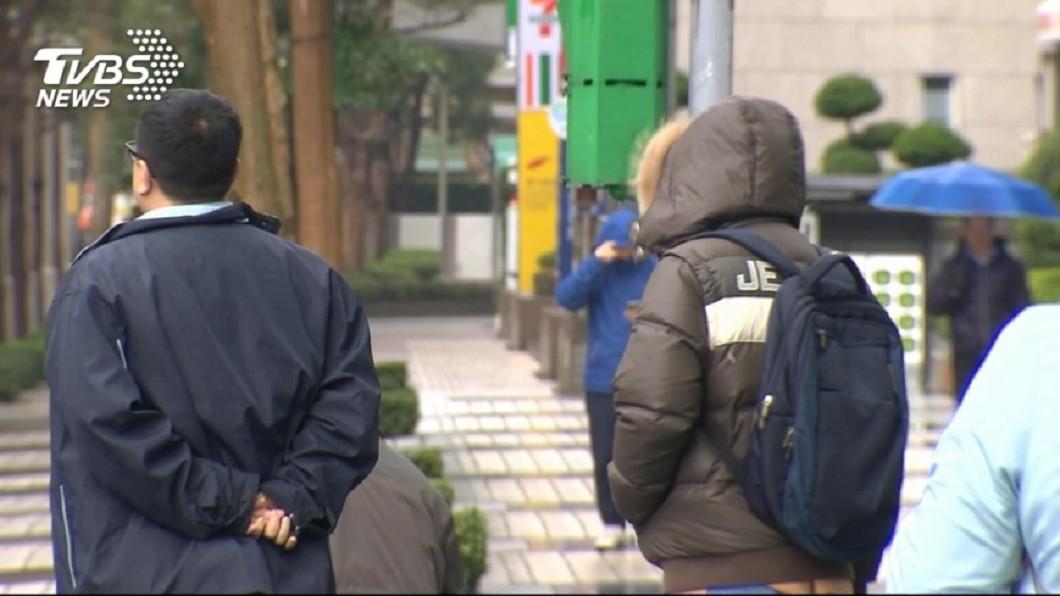 (圖/TVBS資料畫面) 週四轉雨!變天時間點曝光 恐達寒流等級探10度
