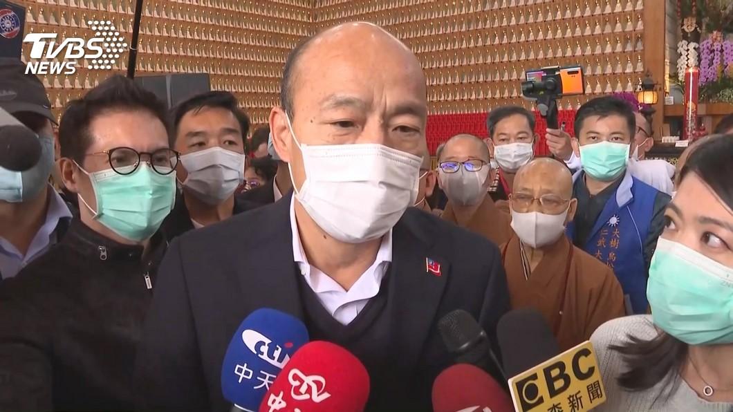 高雄市長韓國瑜現今面臨即將被罷免的危機。(圖/TVBS資料畫面) 國民黨有機會再起? 他分析後揭露2關鍵點