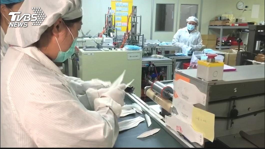 圖/TVBS 日產400萬片口罩徵用 經部持續協調提高產能