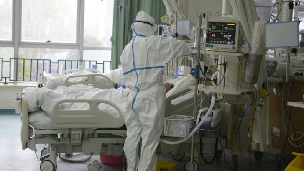 武漢肺炎疫情嚴重,大陸許多地區都已經淪陷。(圖/翻攝自武漢中心醫院微博) 31歲女沒錢治病 染肺炎12天亡…尪淚崩:她才剛懷孕