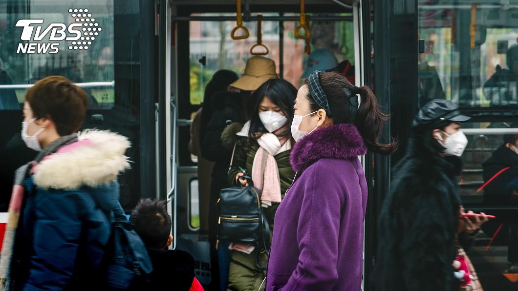 圖片與本事件無關。(示意圖/TVBS) 武漢肺炎病例數遽增 專家預測陸以外:台灣第2慘