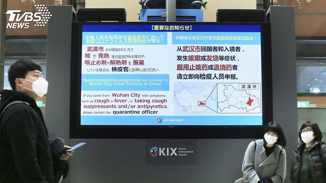 圖/達志影像美聯社 武漢肺炎來勢洶洶! 一個月感染數超越SARS