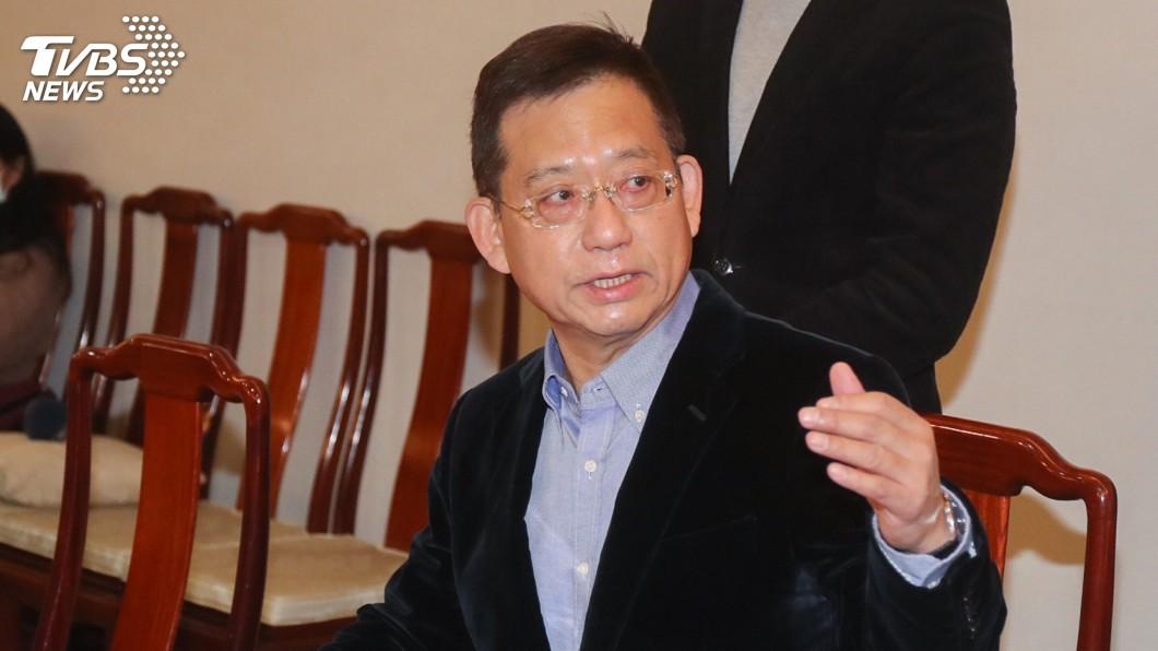圖/中央社 代郝龍斌領表選黨魁 吳育昇:別再用年齡做文章