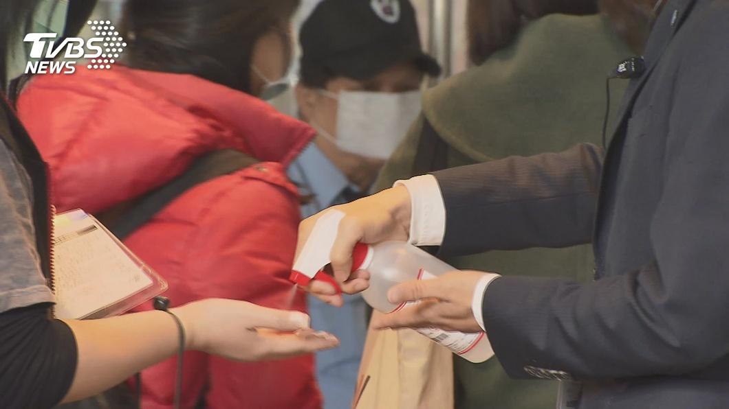 圖/TVBS 武漢400台商提口罩消毒水需求 台灣送不過去