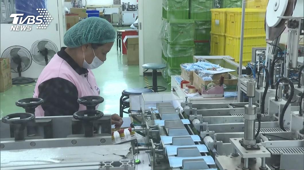 經濟部力拼提升口罩產能 9條新產線15日安裝