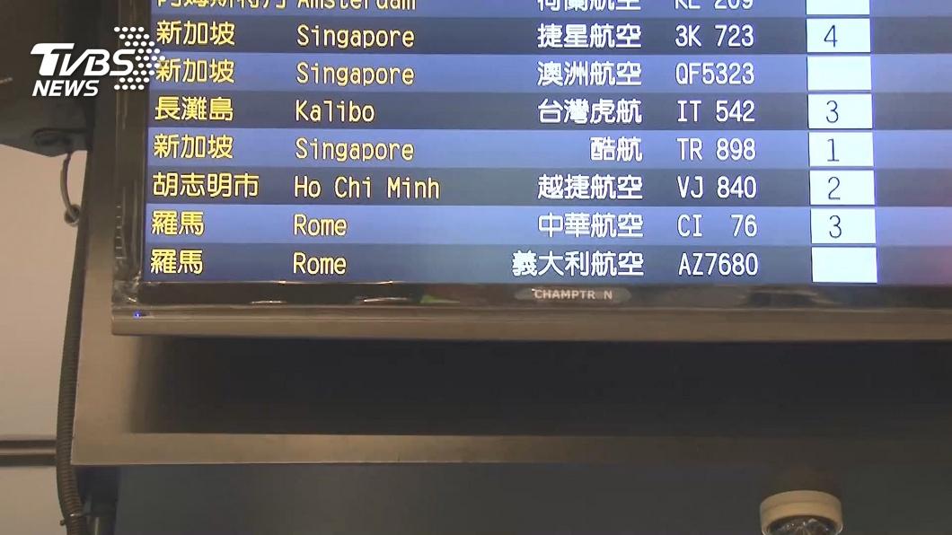 圖/TVBS資料畫面 台航班無辜遭禁 外交部召見義大利駐台代表