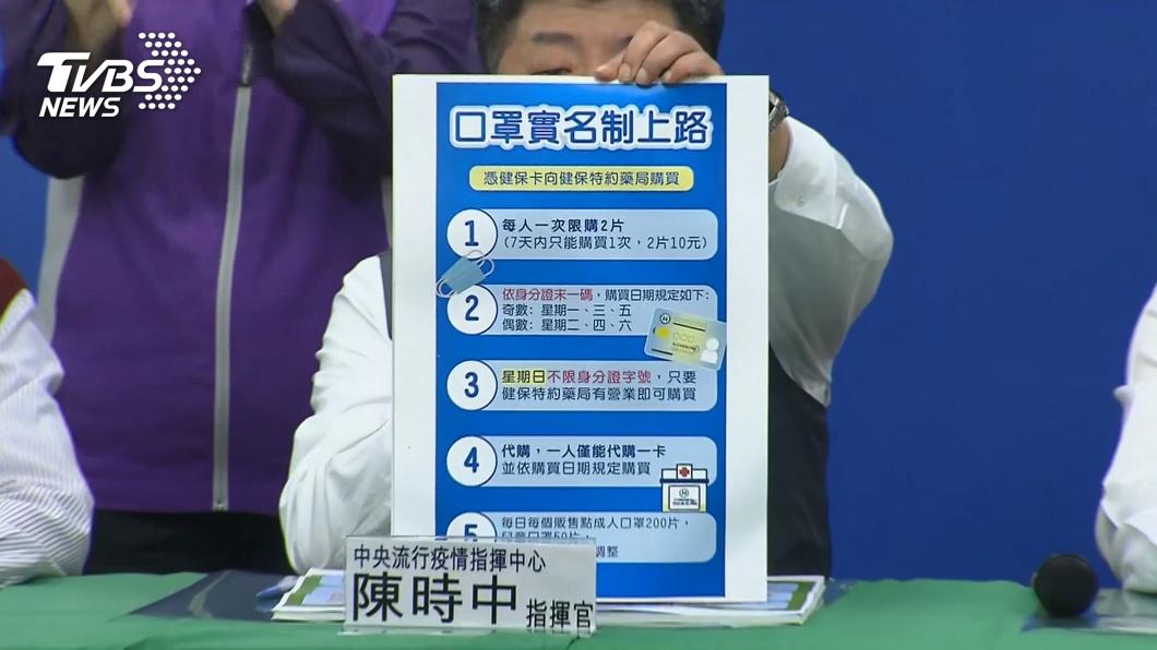 (圖/TVBS資料畫面) 「7天2片」實名制上路 其餘百萬片口罩流向曝光