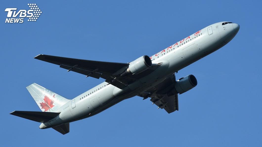 示意圖/TVBS 加拿大航空飛機出問題 空中盤旋4小時平安降落