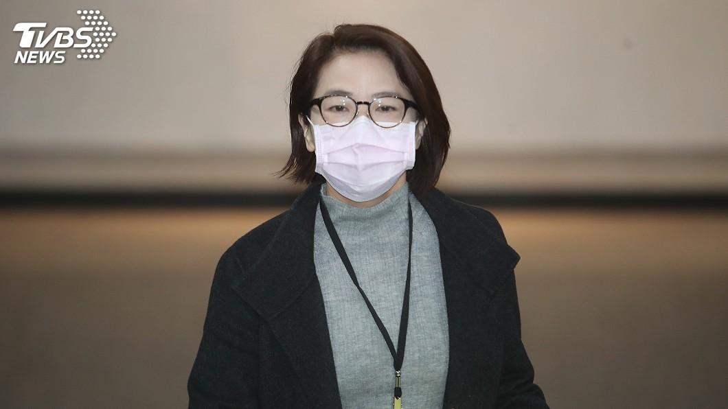 圖/中央社 買口罩採實名制 黃珊珊肯定政府已盡全力