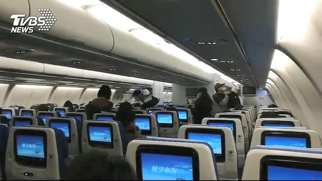 圖/TVBS資料畫面 化解蔡英文窘境!國民黨7人小組出手 促成武漢包機返台