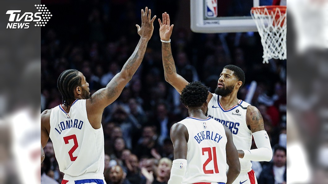 圖/達志影像美聯社 NBA快艇雙星合砍41分 逆轉擊敗馬刺