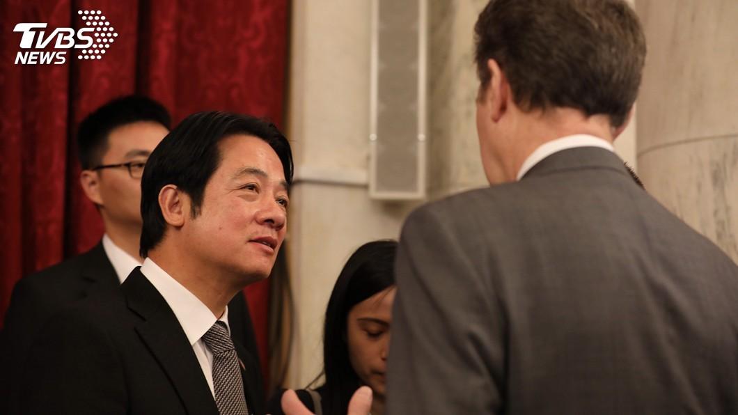 圖/中央社 美參院外委主席見賴清德 表態支持台美簽FTA