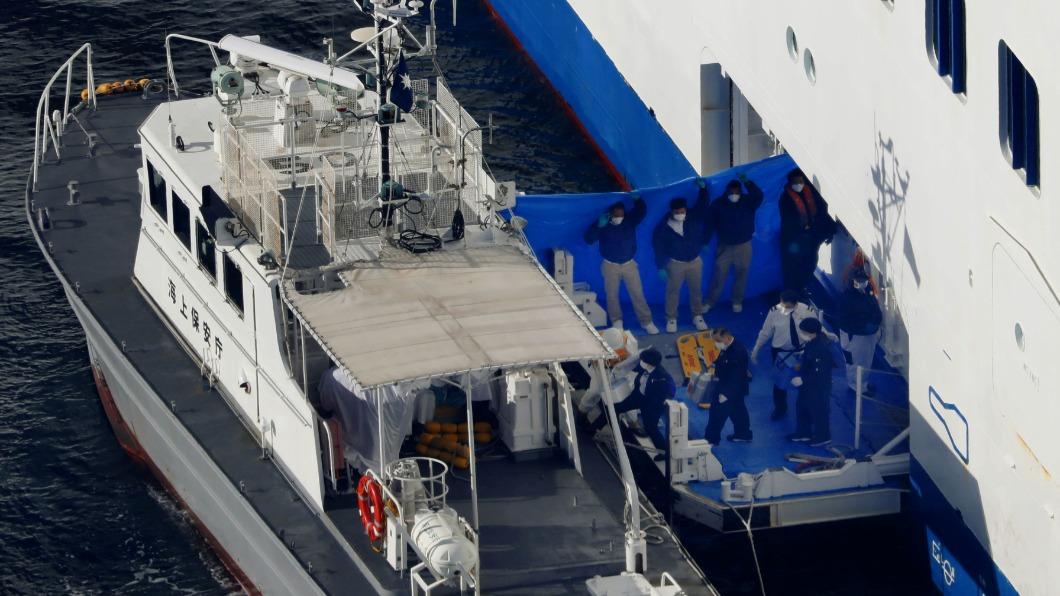 圖/達志影像路透 染疫郵輪10人確診 3700人海上隔離14天