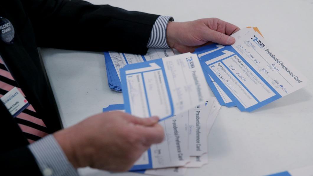 圖/達志影像路透 計票App當機! 民主黨愛荷華初選出槌