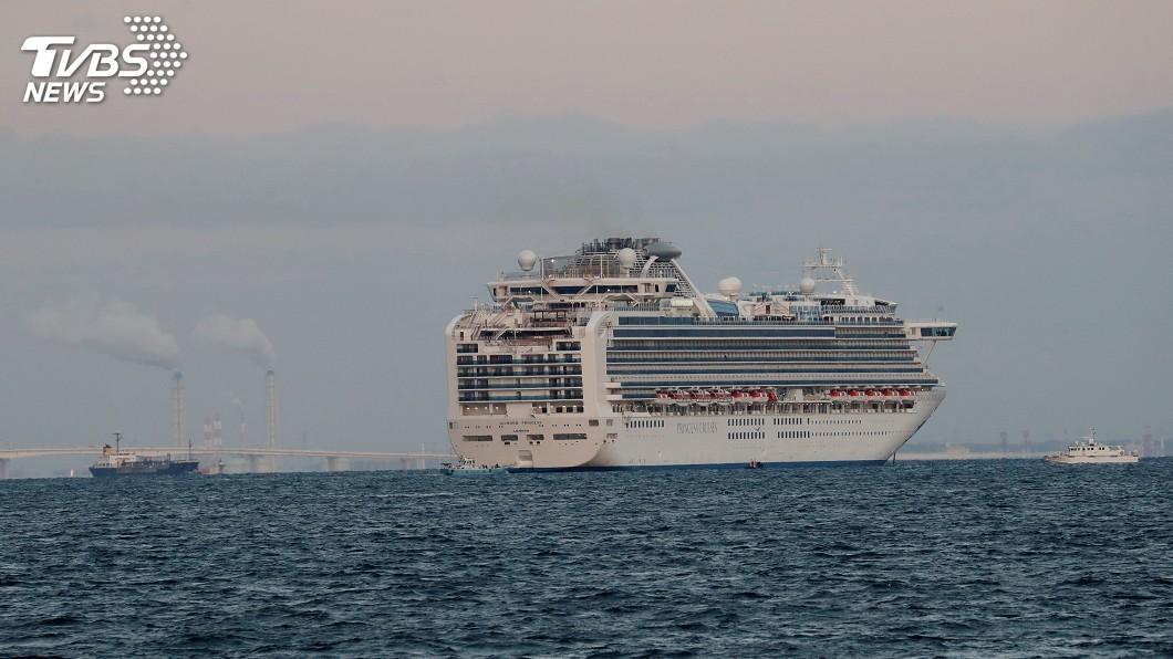 圖/達志影像路透社 旅客感染武漢肺炎 鑽石公主號遊輪6日靠港補給