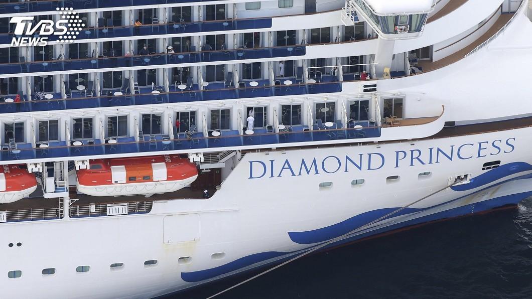 圖/達志影像美聯社 鑽石公主郵輪再傳10人確診 旅客房內隔離2週