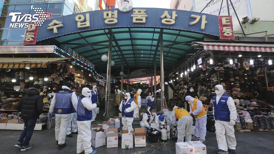 圖/達志影像美聯社 南韓新增至23人感染 武漢肺炎重創全球經濟