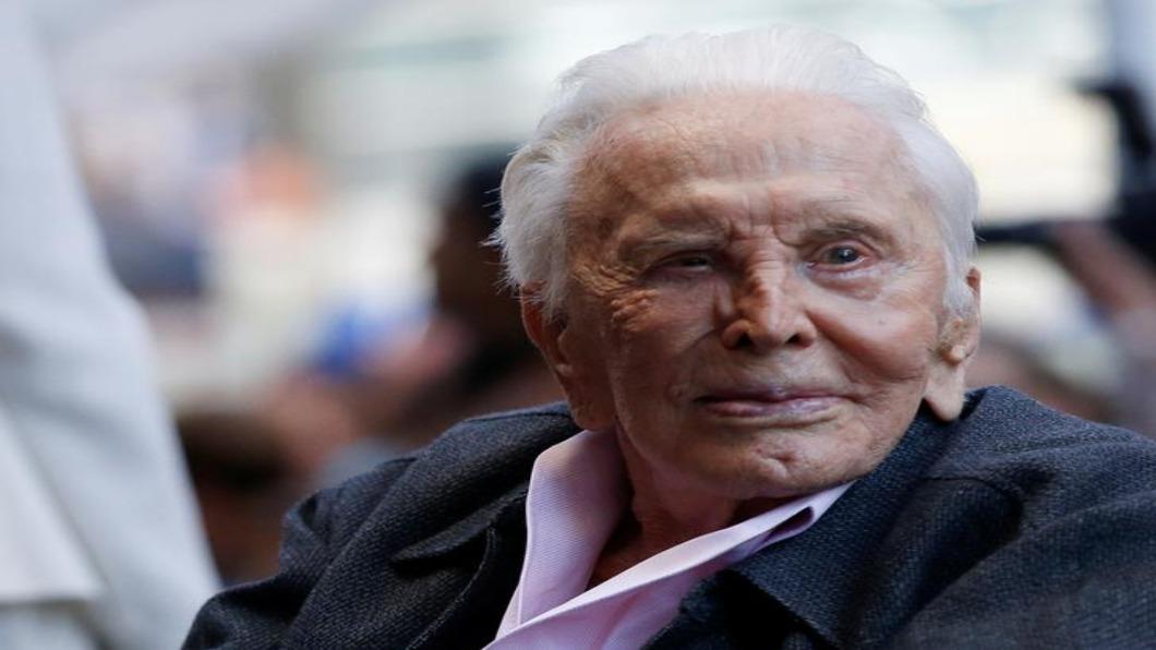 圖/達志影像路透 傳奇巨星殞落!寇克道格拉斯103歲辭世