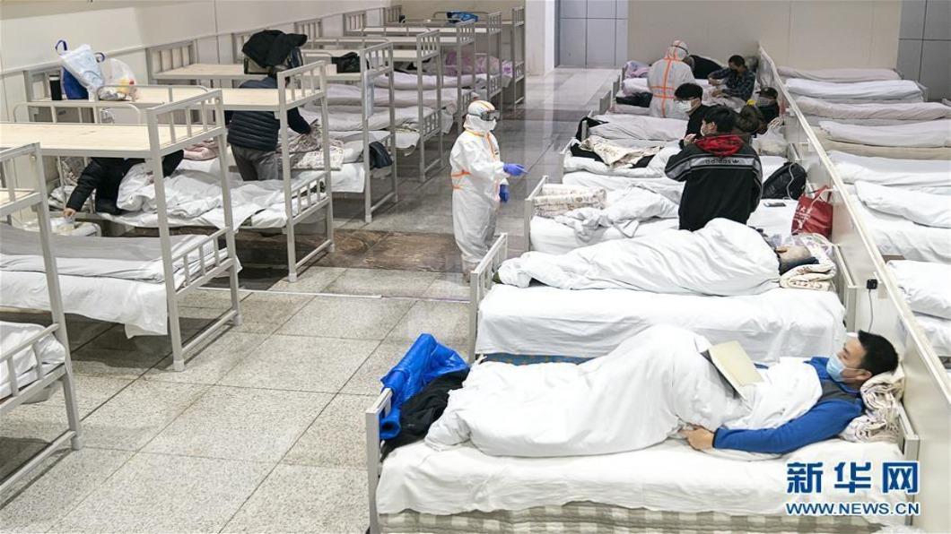 圖/翻攝自 新華網 武漢今起分級收治病患 啟「瑞德西韋」臨床試驗