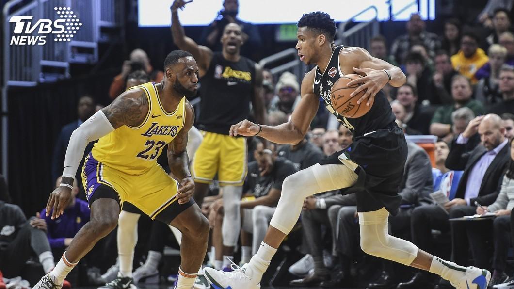 圖/達志影像路透社 NBA明星賽選秀 詹姆斯、字母哥兩隊名單出爐